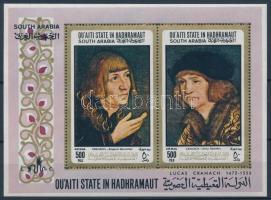 Lucas Cranach paintings block, Lucas Cranach festményei blokk