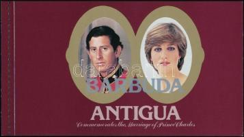 Charles and Diana's wedding stamp-booklet, Károly és Diana esküvője bélyegfüzet