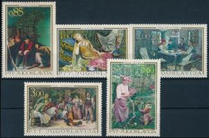 Art: Paintings set, Művészet: Festmények sor