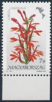 1991 Földrészek virágai II. 7Ft matt ragasztóval / Mi 4127 with matt gum