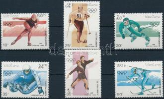 Winter Olympics '92 set, Téli olimpia '92 sor