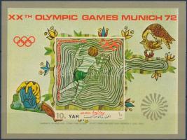 Munich Olympics block ;; Müncheni olimpia blokk