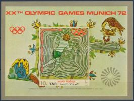 1971 Müncheni olimpia blokk Mi 164
