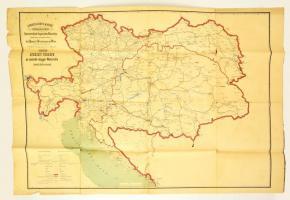 1878 Atnezeti Terkepe Az Osztrak Magyar Monarchia Tavirda