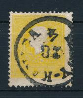 """2kr II sulfur yellow, strong colour, 2kr II. kénsárga, erős szín ,,(NAG)Y-KAN(IZ)SA"""""""