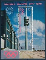 1970 Müncheni olimpia kisív Mi 1232-1238 + blokk Mi 145