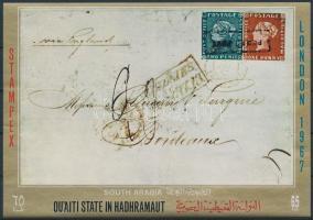 Bélyegkiállítás STAMPEX blokk, STAMPEX Stamp Exhibition block