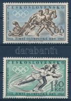 1960 Téli Olimpia sor Mi 1183-1184