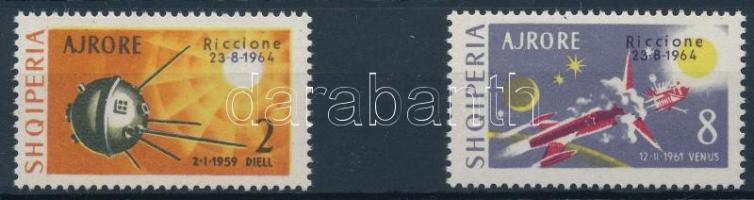 Stamp exhibition, Riccione set, Bélyegkiállítás, Riccione sor
