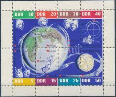 Space exploration mini sheet Űrutazás kisív