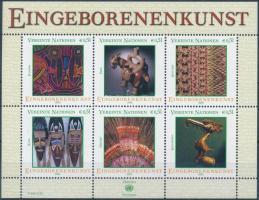 Indigenous art (I.) block Bennszülött művészet (I) blokk