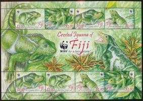 2010 WWF: Leguán kisív Mi 1294-1297