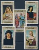 Raffaello festmények, Raffaello festmények (I.) sor