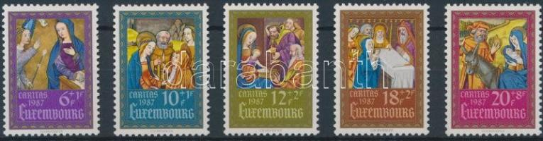 Caritas, textbook miniatures (II) set, Caritas, tankönyv miniatúrák (II) sor