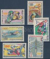 1964 Tokiói olimpia sor Mi 1488-1493