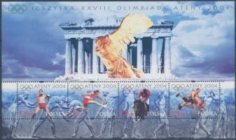 Athens Olympics block Athéni olimpia blokk
