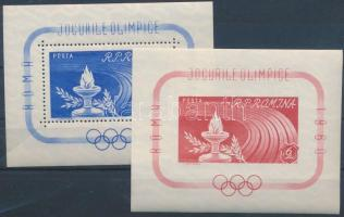 Rome Olympics block set, Római olimpia blokksor