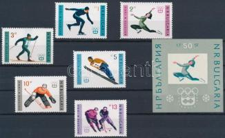 Innsbruck-i olimpia sor + blokk, Olimpic games of Innsbruck set + block