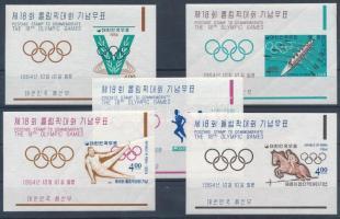 Olympics, Tokyo blockset, Tokiói olimpia blokksor