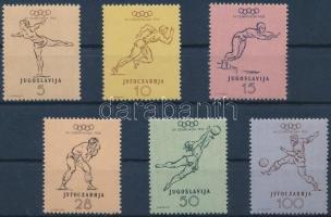 1952 Olimpia sor Mi 698-703