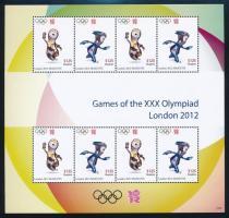 London Olympics mini sheet, Londoni olimpia kisív