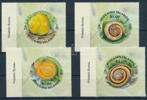Snails self-adhesive stamp set, Csigák öntapadós bélyegsor