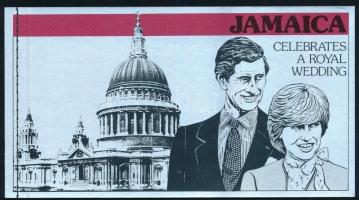 Prince Charles and Lady Diana Spencer's wedding stamp-booklet Károly herceg és Lady Diana Spencer esküvője bélyegfüzet