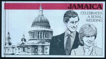 Prince Charles and Lady Diana Spencer's wedding stamp booklet, Károly herceg és Lady Diana Spencer esküvője bélyegfüzet