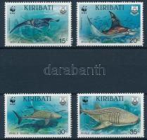 WWF Sea animals set + 4 FDC WWF: Tengeri állatok sor + 4 db FDC
