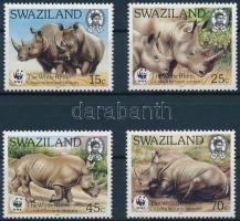 WWF Rhinos set, WWF: Orrszarvú sor