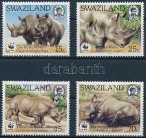 WWF Rhino set, WWF: Orrszarvú sor