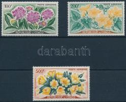 1961 Virágok sor Mi 9-11