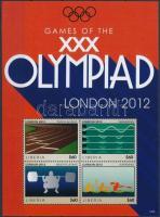 London Olympics minisheet, Londoni olimpia kisív