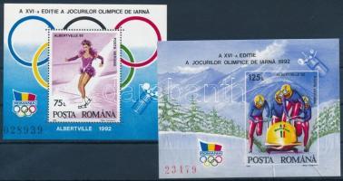 Winter Olympics blockset, Téli olimpia blokk sor