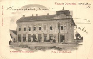 Hatvan, Takarékpénztár, Posta és távirda, Gaál Ignácz üzlete (EK)