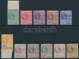 Definitive set (1C MNH) Forgalmi sor (1C postatiszta)