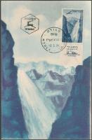 Aircraft stamp with tab on CM, Repülő tabos bélyeg CM-en