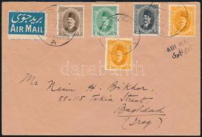 1925 Légi levél Bagdadba / Airmail cover to Baghdad