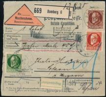 C.O.D. parcel card to Hungary Utánvételes csomagszállító Sopronba