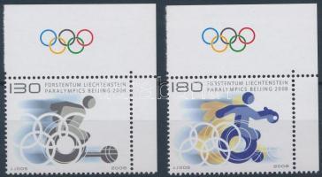 Paralympics: Beijing margin set, Paralimpia: Peking ívszéli sor
