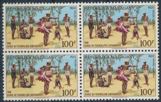 Folk dance block of four, Néptánc négyestömb