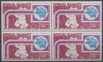 Centenary of UPU block of 4, 100 éves az UPU négyestömb