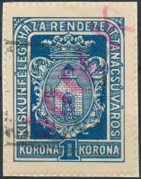 1924 Kiskunfélegyháza 19 sz. okirati illetékbélyeg (20.000)