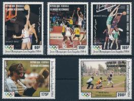 Olimpia sor, Olympics set