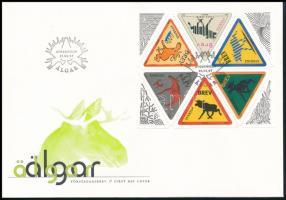 Greetings stamps stamp-booklet sheet FDC, Üdvözlőbélyeg bélyegfüzetlap FDC-n