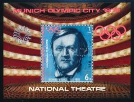 Munich Olympics; Opera mini sheet + block Müncheni olimpia; Opera  kisív  blokk