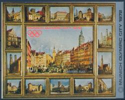 1970 Müncheni olimpia vágott blokk 146