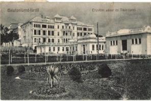 Balatonfüred, Erzsébet udvar és Tibor-fürdő (kis szakadás)