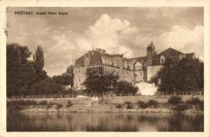 Piestany; Grand Hotel Royal, Pöstyén, Piestany; Royal szálloda. Jan Beranek kiadása