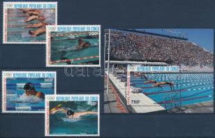 Olimpic, swimming set + block Olimpia, úszás sor  + blokk